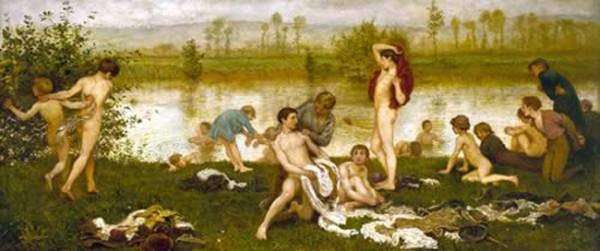 The Bathers 1865 8